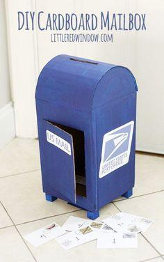 Mailbox Valentine Box by Little Red Window