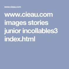www.cieau.com images stories junior incollables3 index.html