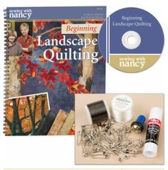Landscape+quilting+by+Natalie+Sewell+and+Nancy+Zieman,+inspirational+photo