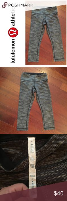 • { Lululemon Athletica } • Capri leggings. Lululemon Athletica Capri leggings. Size: 4. In like new condition! lululemon athletica Pants Leggings