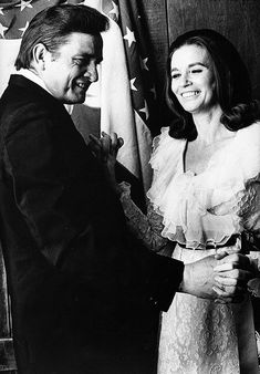Johnny Cash & June Carter Cash taken in 1969.