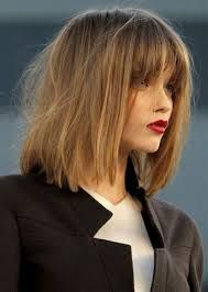 middle part bangs - Cerca con Google