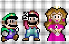 Check out these cool Super Mario bros. Whether you are wanting to cross stitch, knit or you just need a good Mario pixel pattern we can help you out! Embroidery Applique, Cross Stitch Embroidery, Cross Stitch Patterns, Perler Bead Mario, Perler Beads, Super Mario World, Super Mario Bros, Series Manga, Stitch Games