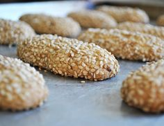 Italian Sesame Seed Cookies - Written Recipe The DiMaggio Family - EverybodyLove. - Italian Sesame Seed Cookies – Written Recipe The DiMaggio Family – EverybodyLovesIta… - Italian Sesame Seed Cookies, Sesame Cookies, Italian Cookies, Italian Cookie Recipes, Italian Desserts, Cookie Desserts, Dessert Recipes, Gourmet Desserts, Plated Desserts