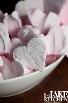 Homemade Marshmallows. Can substitute corn syrup for a sugar/water mix. Just Google.
