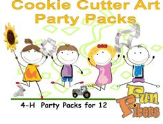 4-H Party Pack for 12