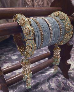 Bridal Bangles, Gold Bangles, Bridal Jewelry, Wedding Accessories, Jewelry Accessories, Jewelry Design, Designer Jewelry, Bridal Chura, Girly Pictures