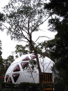 Dome houses, take it with you when you move Geodesic dome house