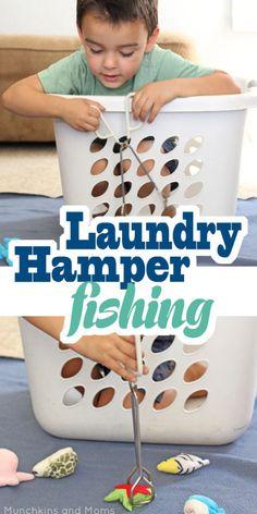 Laundry Hamper Fishing