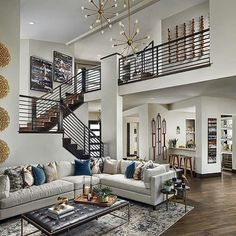 Popular Cheap Home Design Ideas. Wanting to design and decorate your home yet you are at a loss of cheap home design ideas? Don't worry for Home Decor Trends, Contemporary Decor Living Room, Home Interior Design, Trending Decor, Modern House Design, Interior Design Living Room, Luxury House Designs, Luxury House, Open Living Room