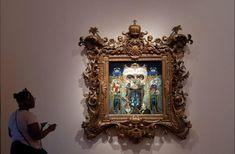 نمایشگاه هنری �مایکل جکسون� در لندن 1- نیک زی