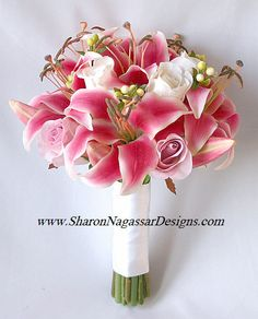 Bouquet with my favorite flowers--Oriental Lilly