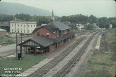 The old Erie RR train station in Salamanca NY