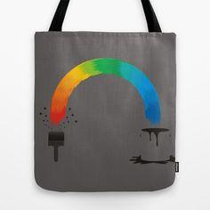 magic brush Tote Bag by creaziz - $22.00