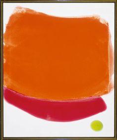 Jules Olitski, Red Flush, Acrylic on canvas. © Estate of Jules Olitski / SODRAC Montreal Museum of Modern Arts Expressionist Artists, Abstract Expressionism, Museum Of Fine Arts, Museum Of Modern Art, Abstract Words, Abstract Art, Abstract Paintings, Painting Gallery, Art Gallery