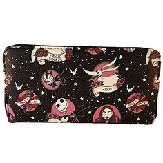 """Loungefly Tim Burton's The Nightmare Before Christmas Tattoo Print """"Sally Loves Jack"""" Disney Wallet by Loungefly"""