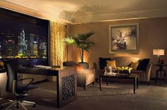Executive Suite Living Room, InterContinental Hong Kong