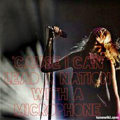 Lyrics- Flobots , Picture- Taylor Momsen, The Pretty Reckless