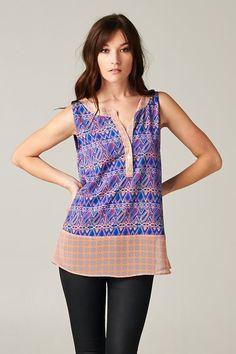 Cute tunic style top.