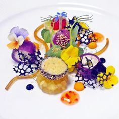 Quail Galantine Technically this dish looks impossible for me to achieve, but it is one of the most beautiful plates of food I have EVER seen ❤️