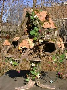 The Fantasy Forest: The Mushroom Fairy House ~ Julie McLaughlin