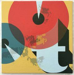 """Saatchi Art Artist andrew godber; Painting, """"'t'"""" #art"""