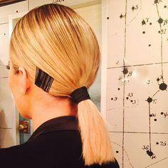 Instagram Is Blowing Up Over Khloe Kardashian's High-Fashion Ponytail: Lipstick.com