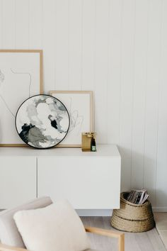 NATALIE x ASSEMBLY LABEL by Sam Riles Photography Modern Cottage, Facade House, White Houses, Floating Nightstand, Home Interior Design, Outdoor Spaces, Beach House, Label, Furniture