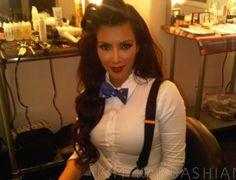 Kim Kardashian (# bow tie)