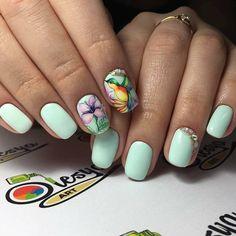 Дизайн ногтей тут! ♥Фото ♥Видео ♥Уроки маникюра Spring Nail Art, Spring Nails, Summer Nails, Pedicure Designs, Cute Nail Designs, Cute Nails, Pretty Nails, Animal Nail Art, Clay Dolls