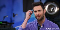 Adam Levine using his Ultimate Ears Custom In-Ear Monitors on NBC's smash hit show The Voice