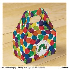 Shop The Very Hungry Caterpillar Birthday Favor Box created by worldofericcarle. Personalize it with photos & text or purchase as is! Baby's First Birthday Gifts, Farm Birthday, Birthday Favors, First Birthdays, Birthday Ideas, Birthday Banners, Birthday Invitations, Cute Baby Shower Gifts, Baby Shower Thank You