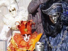 Estáticos Carnaval de Venecia