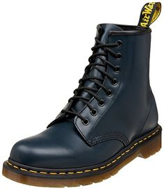 Martens 1460 Originals 8 Eye Lace Up Boot leather Manmade sole Shaft  measures approximately from arch Leather upper PVC outsole 146011020 66142ef38e