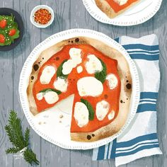 Pizza ~ illustration