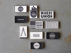 Makers Union Business Cards  --- PRODUCTION METHOD Silkscreen --- DESIGN Jake Dugard  --- PRINTING Jake Dugard