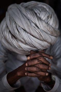 Prayer-Pushkar, India. Beautiful image..