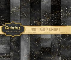 Soot and Stardust Textures by Origins Digital Curio on @creativemarket