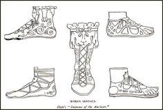 Mercados Medievales y Renacentistas: Calzado en la antigua Roma