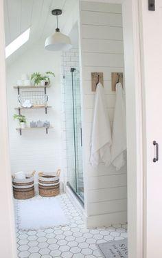 Modern farmhouse bathroom design and decor ideas (59)