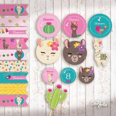 Baby Llama, Cute Llama, One Year Birthday, Girl Birthday Themes, Alpacas, Serpentina, Llama Birthday, Fiesta Decorations, Llama Alpaca