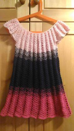 NÁVOD HÁČKOVANÉ ŠATY Kids And Parenting, Crochet Top, Knitting, Anna, Clothes, Tops, Dresses, Women, Patterns