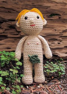 Birthday Suit | I was working out my basic crochet doll patt… | Flickr