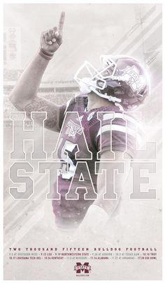 Mississippi State 2015 Football Poster 1