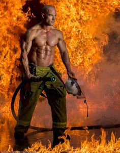 Pin by Men Leather & More FK on Firefighter... | Pinterest