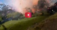 This exploding fireworks factory will terrify and amaze | Rare