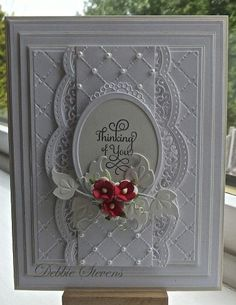 So beautiful! Thinking of you card...