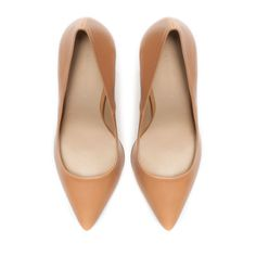 Image 2 of LEATHER COURT SHOE from Zara
