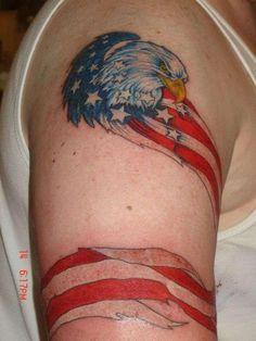 Pics Photos - Sketch Of Eagle N Flag 25 Smashing American Flag Tattoos Flag Tattoos, Weird Tattoos, Pretty Tattoos, Cute Tattoos, Tattoos For Guys, Cool Tats, Photo Sketch, Tattoo Designs, Tattoo Ideas