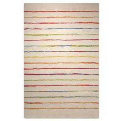 Esprit - Energize Joyful Stripes 04 Cream Rugs - buy online at Modern Rugs UK